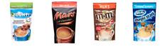 HOT CHOCOLATE - 140G -  MARS - MILKY WAY - M&M'S - BOUNTY -