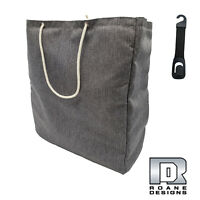 """Roane Design Grocery Shopping Tote Bag & Hook Combo 17""""L x 18 1/2""""H x 7 3/4""""W"""