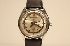 "VINTAGE RARE BEAUTIFUL MEN'S GERMANY WATCH""AMULCOR""(RUHLA) SUPER 21 SPACE STYLE"