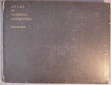 Atlas of Classical Antiquities HC Book