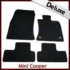 Mini Cooper / CooperS Tailored LUXURY 1300g Car Mats 2Clip (2006...2010 2011)