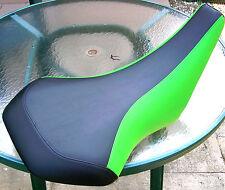 kAWASAKI KFX 400 kfx400 ltz 400 ltz400 seat cover black/lime green