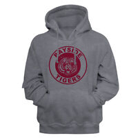 Saved By The Bell Bayside Tigers School Logo Gun Metal Adult Pullover Hoodie