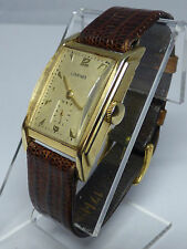 Vintage Longines 14k Solid Yellow Gold Wrist Watch Longines 9L Movement