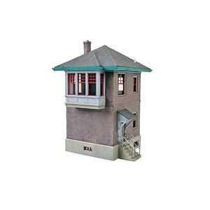 2982 Walthers Cornerstone PRR Pennsylvania Interlocking Tower HO Scale