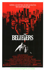 THE BELIEVERS MOVIE POSTER 27x41 Original MARTIN SHEEN 1987 Horror Film