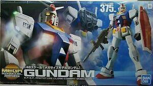 RX-78-2 Gundam Mega Size Gunpla Model Assembly Kit 1/48 14 13/16in Bandai