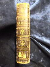 SCOTT'S ESSAYS by REV.THOMAS SCOTT Pub JOHN ANDERSON 1825 1ST ED H/B