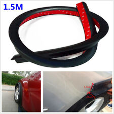 1PC 37MM 1.5M Car Wheel Wiper Strip Eyebrow Arch Flexible Fender Flare Lip Guard