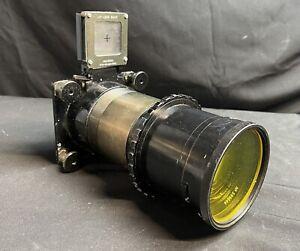 """Vinten, F95 MK V, Taylor-Hobson, 12"""", f4, Lens With Filter And View Finder"""