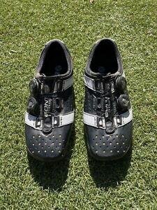 Bont Vaypor Plus road cycling shoes - Size 42 Asia Fit, Black/white