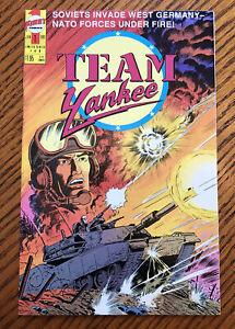 First Comics Team Yankee #1 January 1989