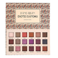 18 Colors Eyeshadow Palette Beauty Makeup Matte Shimmer Eye Shadow Cosmetics