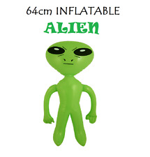 64cm INFLATABLE ALIEN Blow Up Inflatable Animals Party Decoration Toy Gift UFO