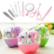 9 pcs/set Nail Care Cutter Cuticle Clipper Pedicure Manicure Set Kit Gifts Tools