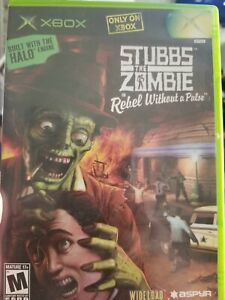 Stubbs The Zombie Rebel Without a Pulse XBOX Game and case NO MANUAL
