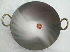 New Iron Deep Frying Pan Kadhai Kadai Wok For Cooking & Frying Kitchen Tools***