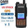 Baofeng DM-X GPS Digital/Analog Record Dual Time DMR Amateur Two Way Radio US