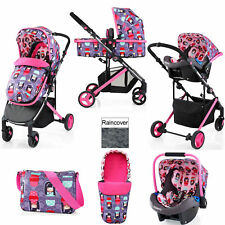 COSATTO WISH KOKESHI SMILE TRAVEL SYSTEM PUSHCHAIR CAR SEAT FROM BIRTH