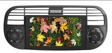 "Fiat 500 07> Media Station TFT-LCD 6,2"" Black Navigation DVD Receiver panel"