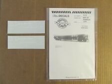 NOS O Scale PROTOCALS Authentic Railroad Decals NKP 50' Gondola #G-12