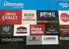 Ultimate Dining Card $50