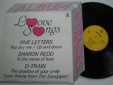 "FIVE LETTERS / SHARON REDD / D-TRAIN SPAIN 12"" HISPAVOX 1984 Disco"