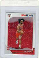 COBY WHITE 2019-20 NBA HOOPS ROOKIE RC RARE HOLIDAY WINTER PARALLEL #204 ~MINT~