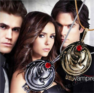 The Vampire Diaries Elena Vervain Pendant Necklace Jewelry Hot Gift