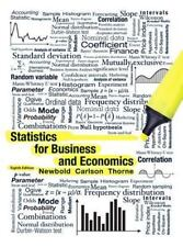 Statistics for Business and Economics (8th Edition) by Paul Newbold, William Ca