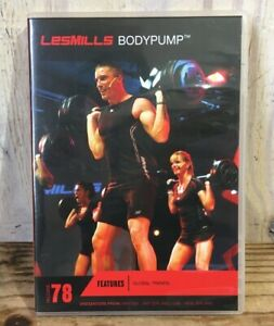 Les Mills Body Pump Release #78 DVD CD Notes