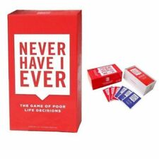 Never Have I Ever - Party Game Cards Adult Entertainment Party Fun Xmas Gifts