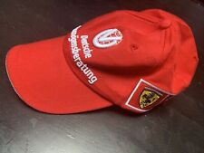 Michael Schumacher Mens Hat Red Formula 1 Ferrari 2000 Cap Official Product