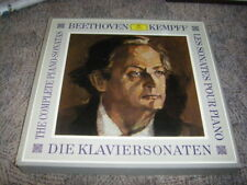 11 LP-Box LUDWIG VAN BEETHOVEN Die Klaviersonaten WILHELM KEMPFF (DGG)