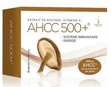Symactive AHCC 500+, 764mg (500mg d'AHCC et 20mg de Vitamine C), 60/30 Capsules
