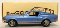 Brooklin 1/43 Scale BRK24  001  - 1968 Shelby Mustang G.T. 500 Acapulco Blue