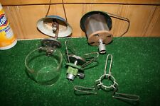 Vintage Lot 5 Coleman Lantern and Stove Parts