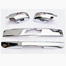 For 07-14 Chevy Tahoe Chrome Liftgate Molding+Tailgate Handle Cover+Mirror cover