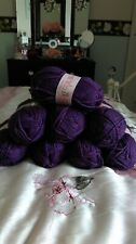 King Cole Big Value Chunky 100gm Balls 20 Colours 556 Heather