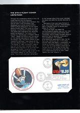 USA CHALLENGER 1983 BUSTA VIAGGIATA IN FOLDER EDIZIONE LIMITATA