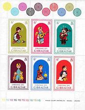 Markenblock Gibraltar: Weihnachtsmarken Christmas 1975