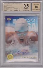 BGS 9.5/10 2016 TOPPS OLYMPIC CONOR DWYER GOLD AUTOGRAPH CARD 14/15 USA SWIMMING