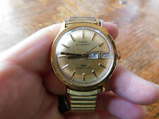 SALE Vintage Timex Automatic Day & Date  Mens Watch