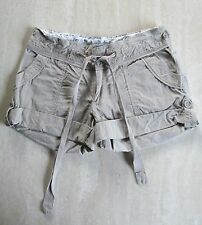 Cute CHARLOTTE RUSSE Jr Ladies Sz 5 Beige/Tan SHORTS 100% Cotton-No Stretch EUC