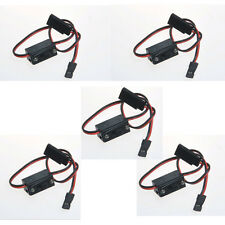 5Pcs On/Off RC Li-po Battery On/Off Switch Connector Plug Futaba JR Plug