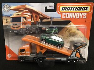 Matchbox Convoy MBX Cabover And Auto Transport Trailer With 2011 Mini Countryman