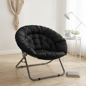 Urban Shop Oversized Moon Chair High Quality Fabric