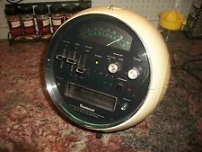 """RARE Vintage 1970s Weltron """"Space ball"""" 8 Track AM/FM Stereo Model 2001 Guc Read"""