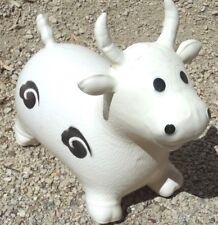 RIDE ON COW BLACK & WHITE JUMP & BOUNCE TOY FREE POST