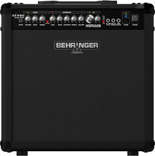 Behringer Gtx60 Guitar Amplifier - 2 channel with foot pedal.